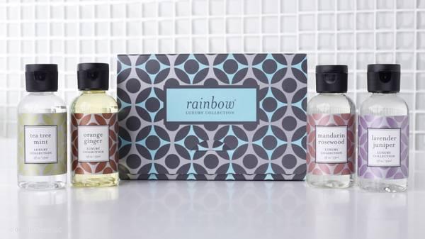 Rainbow duftsett 4pk - Luxury